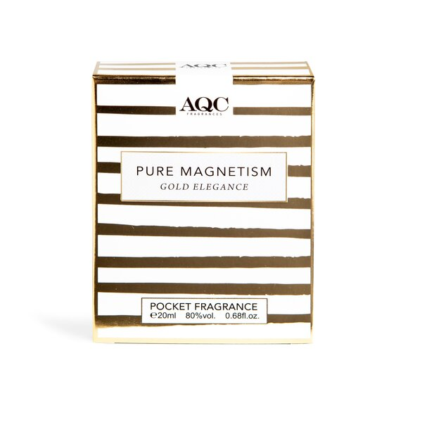 AQC одт джобен размер Pure Magnetism gold elegance 20мл.