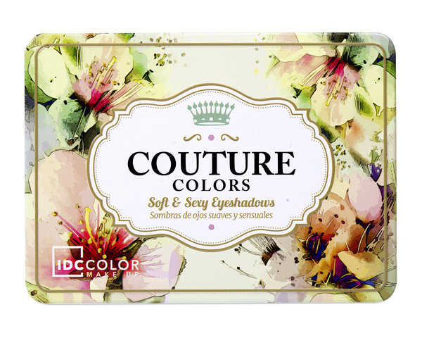 IDC палитра за лице и очи Couture Colors 9 цвята