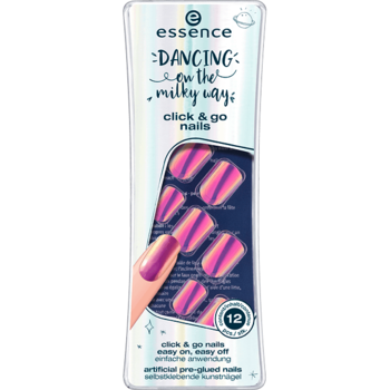 Essence изкуствени нокти click & go Dancing on the Milky Way