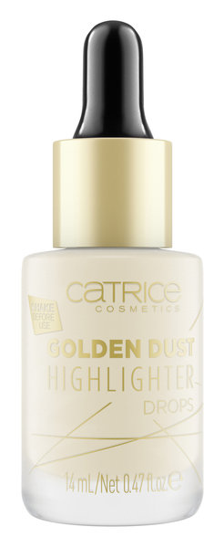 Catrice озаряващ серум за лице Golden Dust