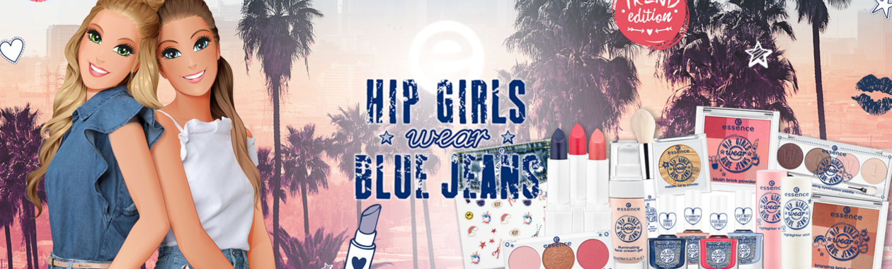 Essence Hip Girls wear Blue Jeans