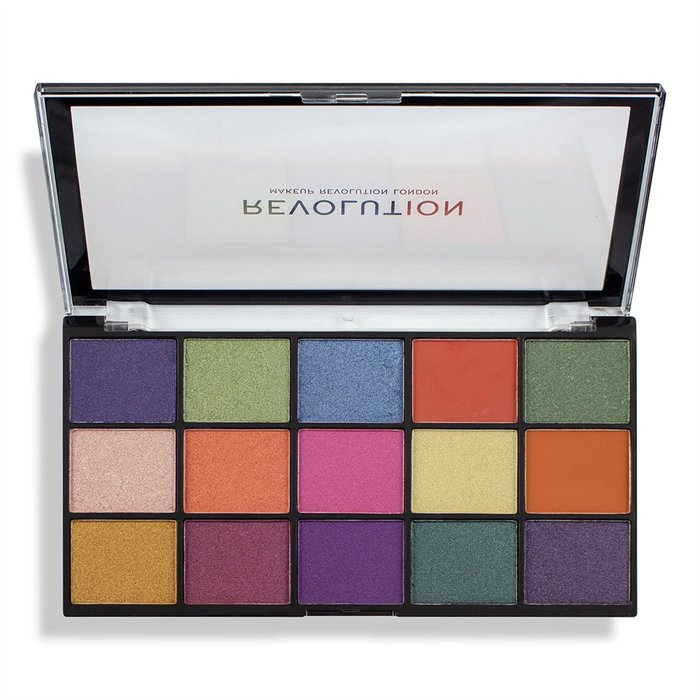 Makeup Revolution палитра сенки за очи Re-loaded Passion for Colour 15 цвята